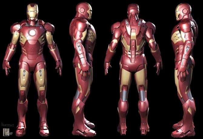 Hollywood está ayudando al ejército estadounidense a imprimir trajes reales de Iron Man