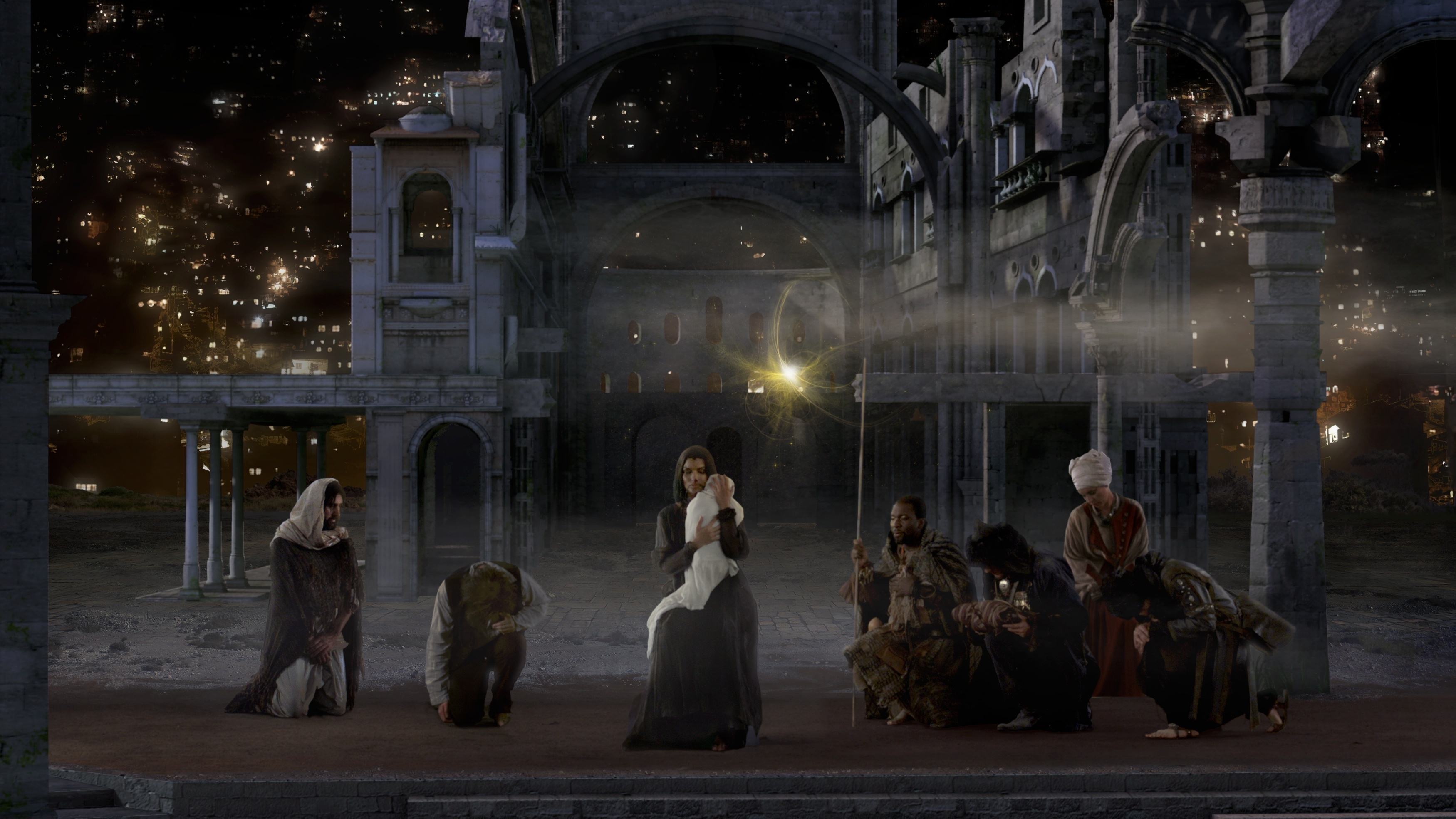 Experience The Nativity Scene As A Generative, Ever-Changing Digital ...