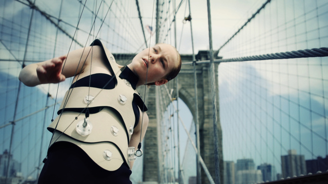 The Creators Project: Human Harp Makes Sounds Using NYC Bridges