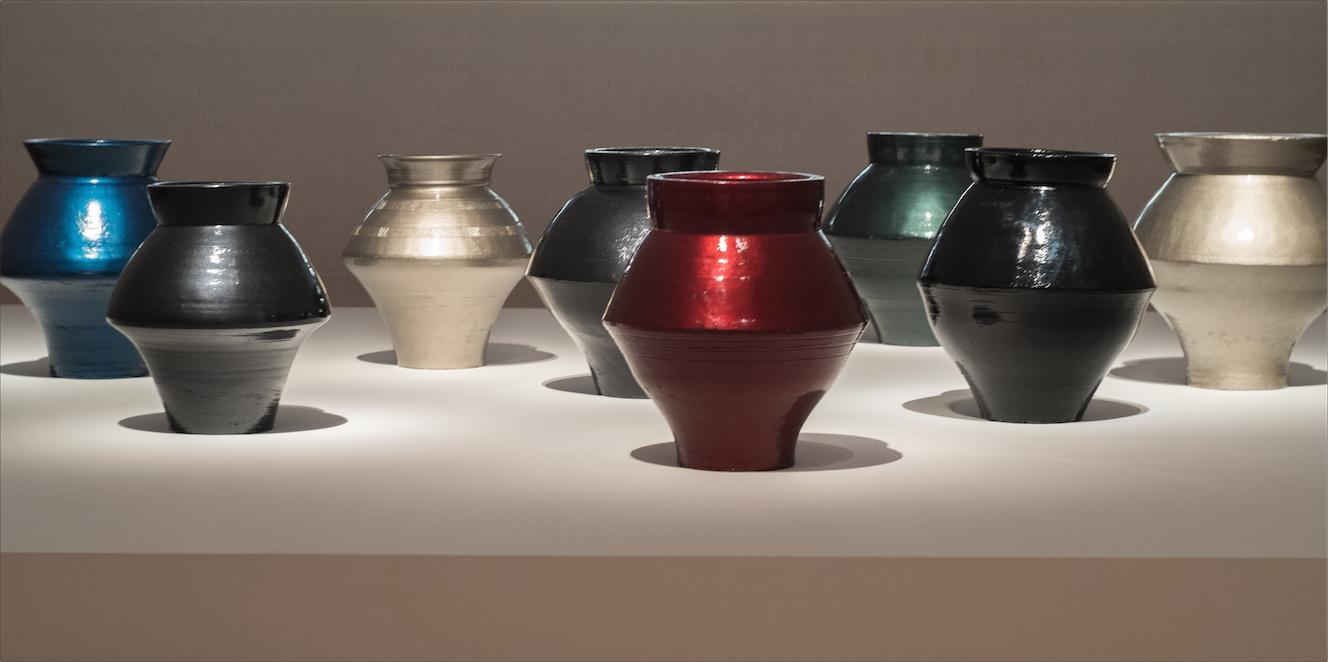 Han Dynasty Vases Auto Paint