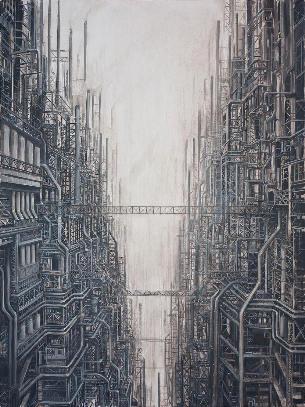 An Artist Visualizes The Terrifying, Dystopian Metropolises Of Tomorrow