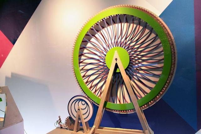 Cardboard Ferris Wheel Midtown Display Ferris Wheel