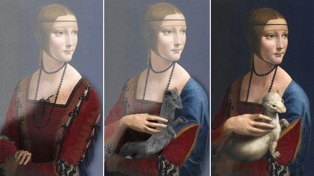 La dama del armiño - Secretos Ocultos en obras de arte - Nocicias Totenart