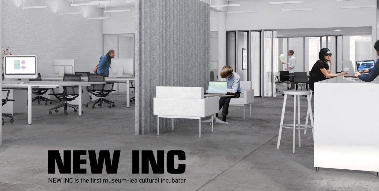 NEW INC museum incubator