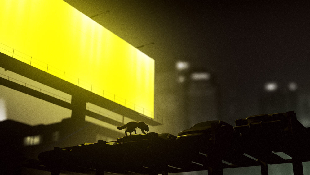 We talked to the animator of sbtrkt 39 s spooky new music video the creators project - The wonder loft a visual experiment in manhattan ...