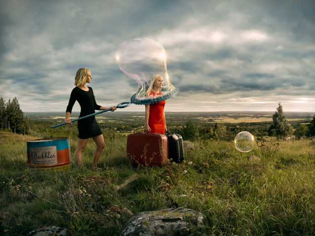 Surrealist Photographer Erik Johansson Bends Reality