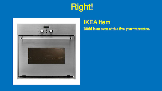 Differences between a furniture store with ikea